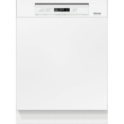 Masina de spalat vase partial incorporabila Miele G 6620 SCi BRWS, 60 cm, panou control alb, 14 seturi, A+++-10%, 7 programe