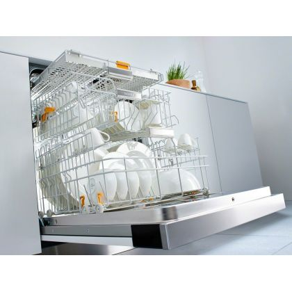 Masina de spalat vase partial incorporabila Miele G 6920 SCi, 60 cm, 14 seturi, 18 programe, A+++-20%, AutoClose, AutoOpen, BrilliantLight