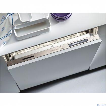 Masina de spalat vase complet incorporabila Miele G 6992 SCVi K2O EDST, 60 cm, 14 seturi, A+++-20%, Knock2open, BrilliantLight