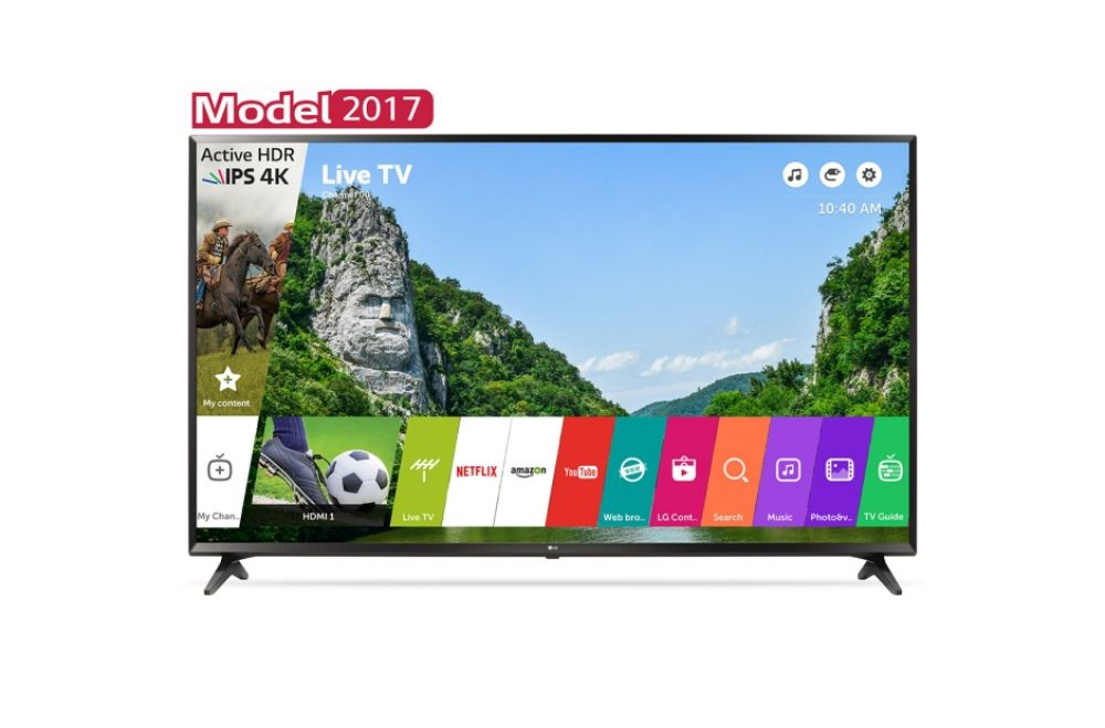 Televizor LED LG 49UJ6307 49 inch / 124 cm IPS 4K Ultra HD Smart TV Web OS 3.5