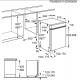 Masina de spalat vase partial incorporabila Electrolux ESI4201LOX, 45 cm, 9 seturi, A+