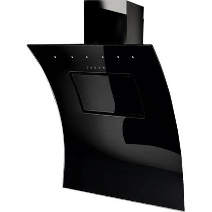 Hota decorativa de perete Pyramis Design KA8250, 90 cm, sticla neagra