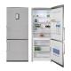 Combina frigorifica No Frost Pyramis FSH 187, 60cm, A+, inox