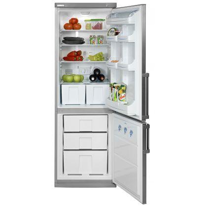 Combina frigorifica No Frost Pyramis FSG 185, clasa A, 60cm, 322 litri, inox