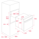 Cuptor incorporabil compact electric Teka HLC 860 P, negru, pirolitic, HydroClean, TFT