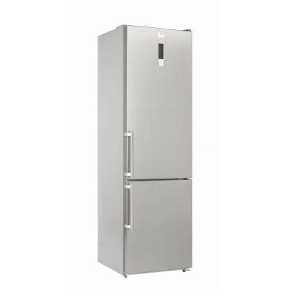 Combina frigorifica Full No Frost Teka NFL 430 E, 60 cm, inox