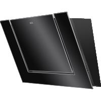 Hota de perete AEG DVB3850B, 80 cm, sticla neagra
