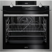 Cuptor incorporabil electric AEG BPE552320M, inox, Plus Steam, pirolitic