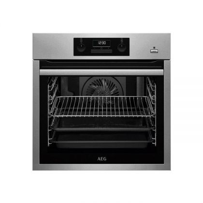 Cuptor incorporabil electric AEG BES351110M, inox, Plus Steam