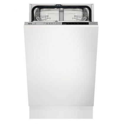 Masina de spalat vase complet incorporabila AEG FSE83400P, 45 cm, 9 seturi, inverter