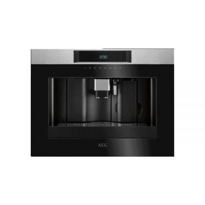 Espressor incorporabil AEG KKK884500M, inox si negru, display LCD, rasnita inclusa