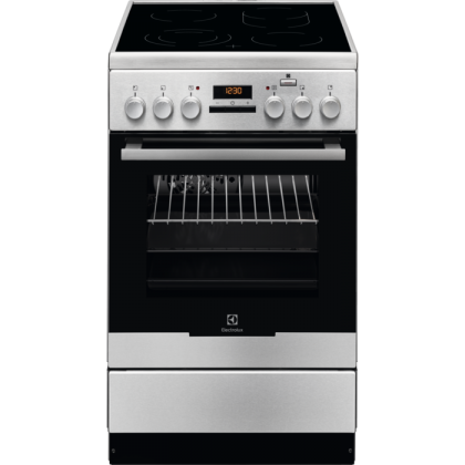 Aragaz electric Electrolux EKC54952OX, 50 cm, inox, catalitic, Plus Steam