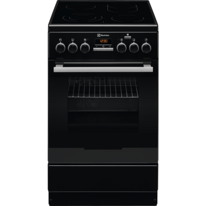 Aragaz electric Electrolux EKC54952OK, 50 cm, negru, catalitic, Plus Steam