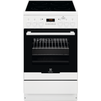Aragaz electric Electrolux EKC54950OW, 50 cm, alb, Plus Steam