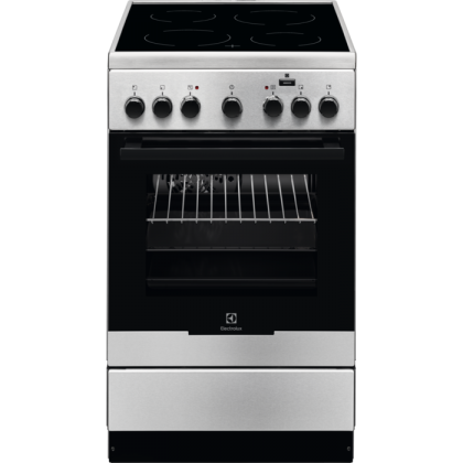 Aragaz electric Electrolux EKC52950OX, 50 cm, inox, Plus Steam