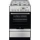 Aragaz mixt Electrolux EKK54955OX, 50 cm, inox, gratare fonta, Plus Steam