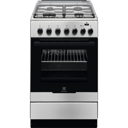 Aragaz mixt Electrolux EKK52950OX, 50 cm, inox, Plus Steam