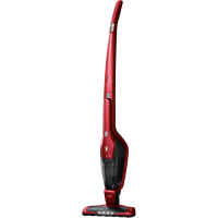 Aspirator vertical fara fir 2 in 1 Electrolux Ergorapido EER7ANIMAL, Baterie Li-Ion, acumulator 18 V, Chili Red
