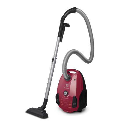 Aspirator cu sac Electrolux EPF61RR, 800 W, rosu