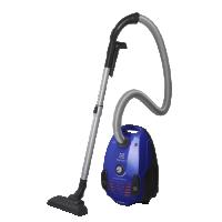 Aspirator cu sac Electrolux EPF62IS, 800 W, albastru