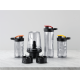 Blender Electrolux ESB2900, 400 W, 1 cana cu element racire, 2 sticle 300 ml incluse, accesoriu macinat cafea