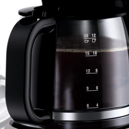 Cafetiera Electrolux EKF3300, 1100 W, neagra