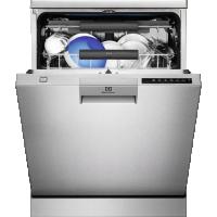 Masina de spalat vase Electrolux ESF8586ROX, 60 cm, inox, RealLife, inverter, indicator luminos