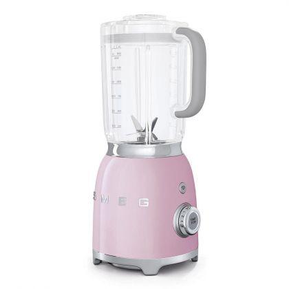 Blender Smeg BLF01PKEU, roz, retro, 800 W