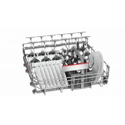 Masina de spalat vase Bosch SMS68PI01E, 60 cm, A+++, 13 seturi, inox, Zeolith Drying system, EcoSilence Drive