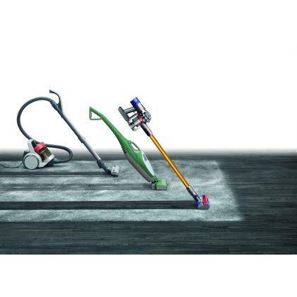 Aspirator vertical Dyson V8 Absolute Pro, 425 W, 40 min. autonomie, fuchsia