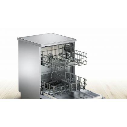 Masina de spalat vase Bosch SMS46AW00E, 60 cm, A+, 12 seturi, alba, EcoSilence Drive, Active Water