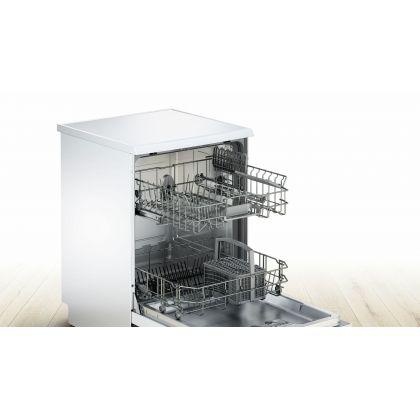 Masina de spalat vase Bosch SMS25AW00E, 60 cm, A+, 12 seturi, alba, EcoSilence Drive, Active Water