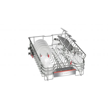 Masina de spalat vase Bosch SPS69T78EU, 45 cm, A++, 10 seturi, inox, EcoSilence Drive, Active Water