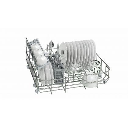 Masina de spalat vase compacta Bosch SKS51E28EU, A+, 6 seturi, inox, EcoSilence Drive, Active Water