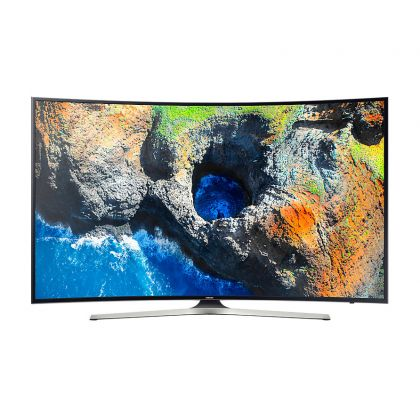 Televizor LED curbat Samsung 55MU6202, 55 inch / 138 cm, Ultra HD, Smart TV, WiFi