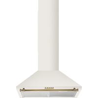 Hota semineu Electrolux EFC60441OV, 60 cm, retro, alb