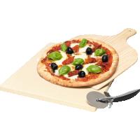 Set piatra pentru pizza Electrolux E9OHPS1, 3 piese