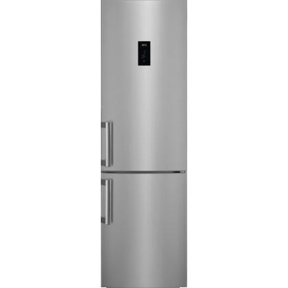 Combina frigorifica No Frost AEG RCB63726KX, 60 cm, inox, afisaj LCD, A++