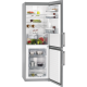 Combina frigorifica No Frost AEG RCB53426TX, 60 cm, inox, afisaj LCD, A++