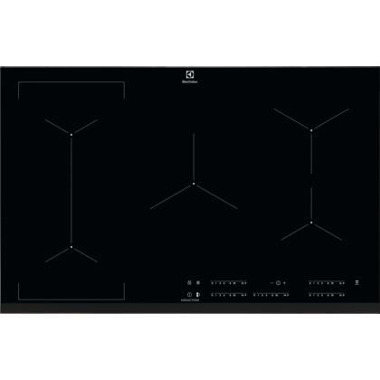 Plita incorporabila inductie pe toata suprafata Electrolux EIV835, 78 cm, conectivitate hota, functie punte