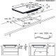 Plita incorporabila inductie pe toata suprafata Electrolux EIV734, 71 cm, conectivitate hota, functie punte