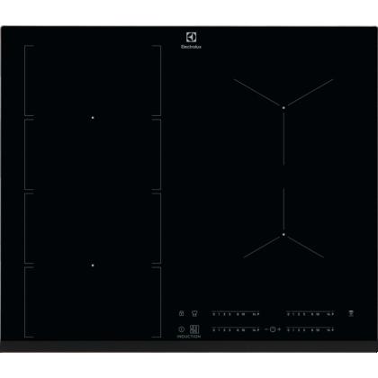 Plita incorporabila inductie pe toata suprafata Electrolux EIV654, 60 cm, conectivitate hota, functie punte