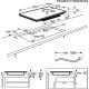Plita incorporabila cu inductie pe toata suprafata Electrolux EIV9467, 90 cm, functie punte, conectivitate hota