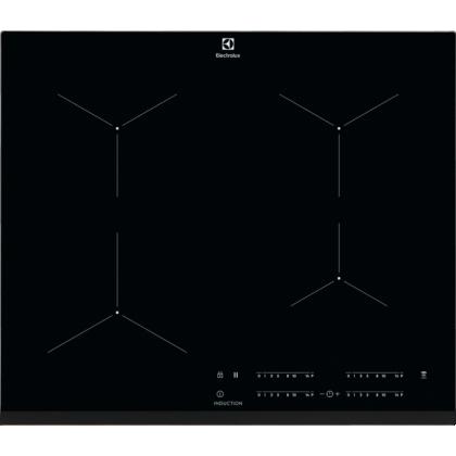 Plita incorporabila cu inductie Electrolux EIT61443B, 60 cm, conectivitate hota