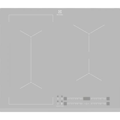 Plita incorporabila cu inductie Electrolux EIV63440BS, 60 cm, conectivitate hota, functie punte, silver