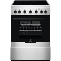 Aragaz electric Electrolux EKC61960OX, 60 cm, inox, plita vitroceramica, Plus Steam