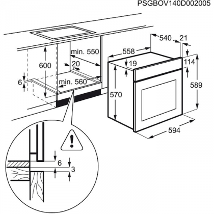 Cuptor incorporabil electric Zanussi ZOC25601XU, 60 cm, inox, catalitic
