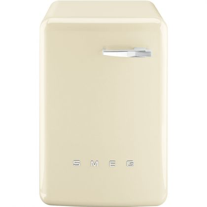 Masina de spalat rufe retro Smeg LBB14CR-2, crem, 7 kg, A++, 15 programe
