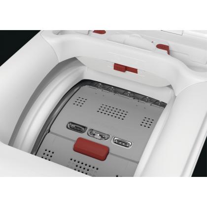Masina de spalat rufe cu incarcare verticala AEG LTX8C373E, 7 kg, inverter cu magnet permanent, A+++ (-30%)