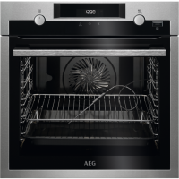 Cuptor incorporabil electric AEG BPE556320M, plus steam, pirolitic, proba de carne